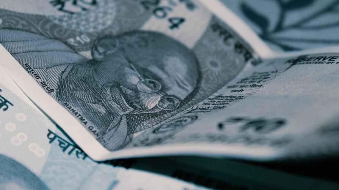 india rupee banknote